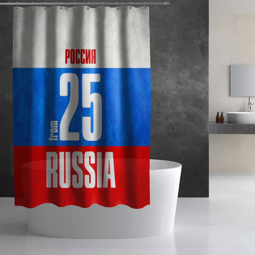 Штора 3D для ванной  Фото 02, Russia (from 25)