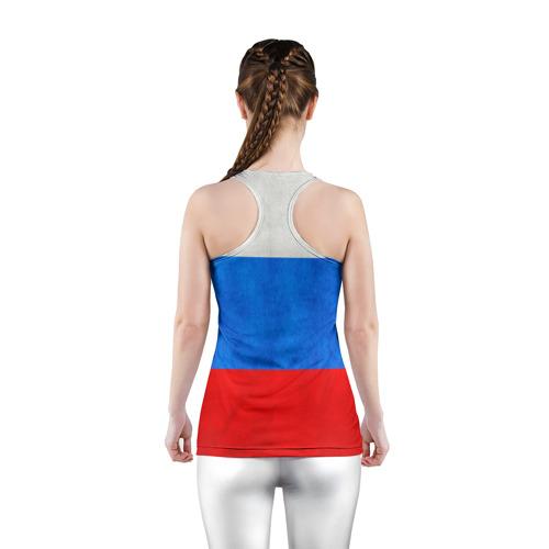Женская майка 3D спортивная  Фото 04, Russia (from 25)
