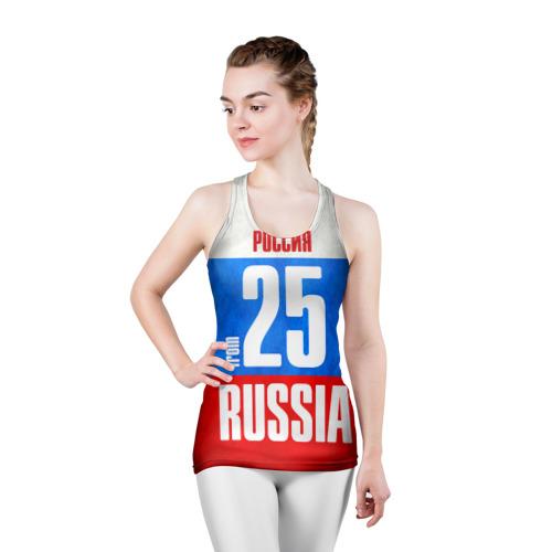 Женская майка 3D спортивная  Фото 03, Russia (from 25)