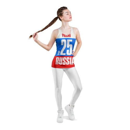 Женская майка 3D спортивная  Фото 05, Russia (from 25)