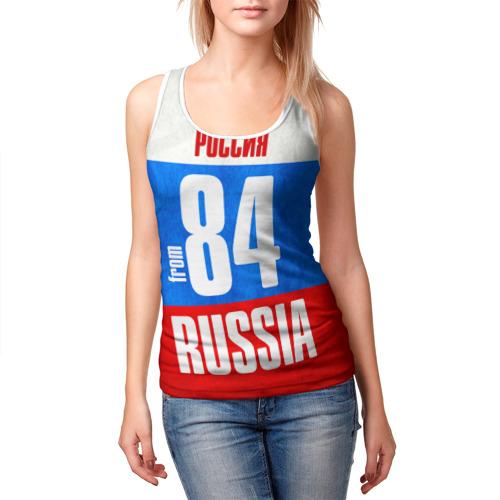 Женская майка 3D  Фото 03, Russia (from 84)