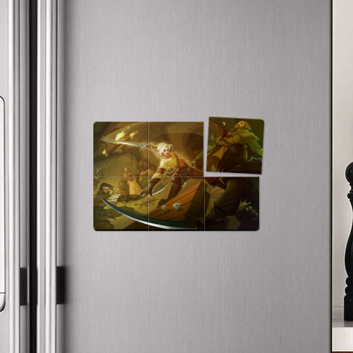 Магнитный плакат 3Х2  Фото 04, Цирилла