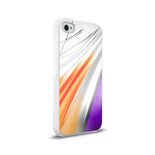 Чехол для Apple iPhone 4/4S силиконовый глянцевый Парус Фото 01