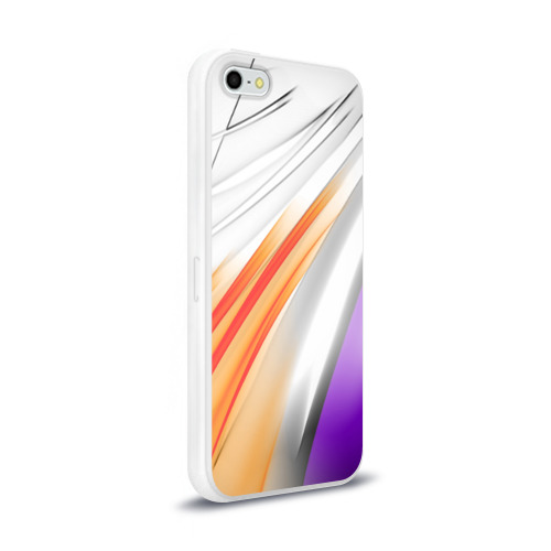Чехол для Apple iPhone 5/5S силиконовый глянцевый Парус Фото 01