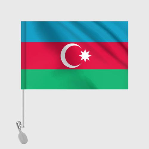 Флаг для автомобиля Азербайджан Фото 01