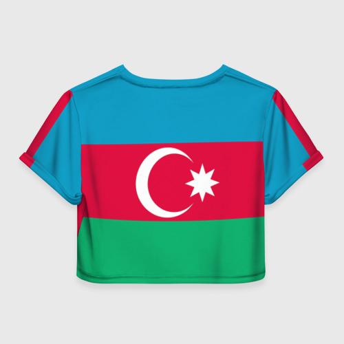 Женская футболка 3D укороченная  Фото 02, Азербайджан