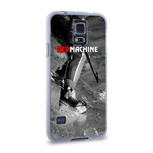 Чехол для Samsung Galaxy S5 силиконовый  Фото 02, Red maсhine