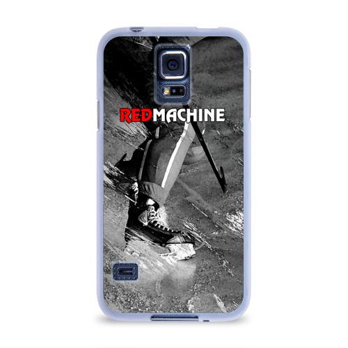 Чехол для Samsung Galaxy S5 силиконовый  Фото 01, Red maсhine
