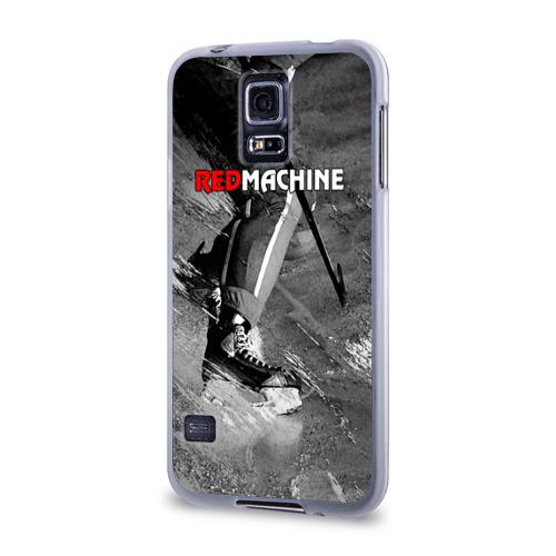 Чехол для Samsung Galaxy S5 силиконовый  Фото 03, Red maсhine
