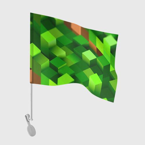 Флаг для автомобиля Minecraft One фото