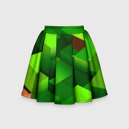 Детская юбка-солнце 3D Minecraft