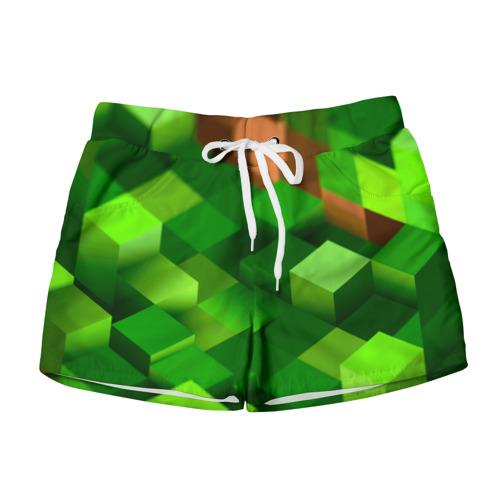 Женские шорты 3D Minecraft