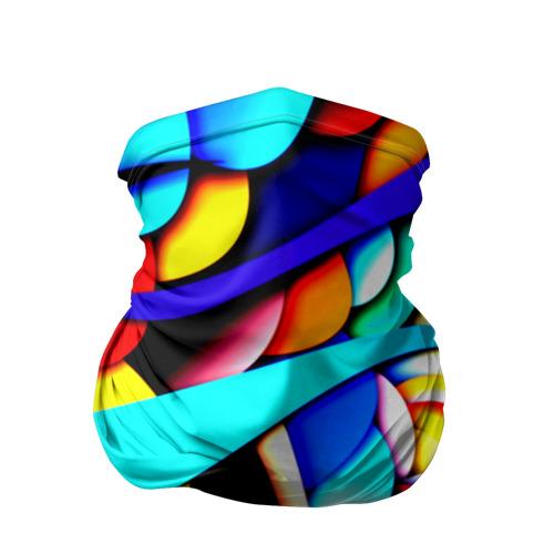 Бандана-труба 3D  Фото 01, Завитки