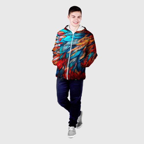 Мужская куртка 3D  Фото 03, Перья