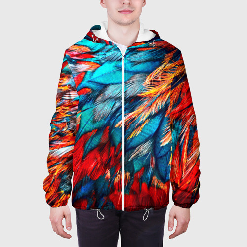 Мужская куртка 3D  Фото 04, Перья