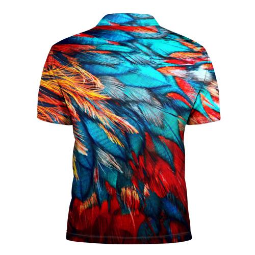 Мужская рубашка поло 3D  Фото 02, Перья