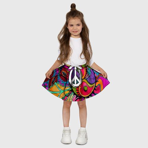 Детская юбка-солнце 3D  Фото 03, Хиппи 2