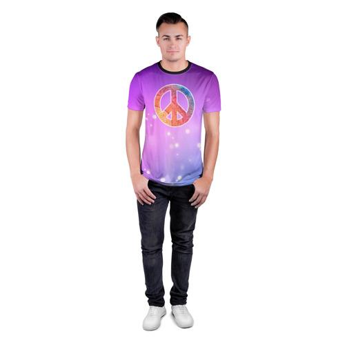 Мужская футболка 3D спортивная Хиппи 8 Фото 01
