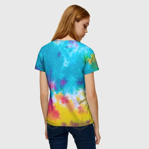 Женская футболка 3D Хиппи 9 Фото 01