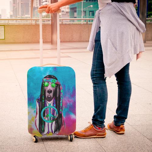 Чехол для чемодана 3D Хиппи 9 Фото 01