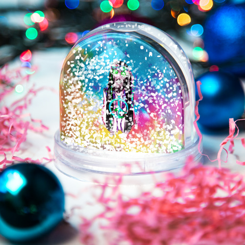 Снежный шар Хиппи 9 Фото 01