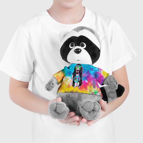 Енотик в футболке 3D Хиппи 9 Фото 01