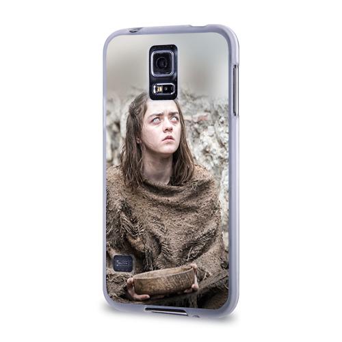 Чехол для Samsung Galaxy S5 силиконовый  Фото 03, А. Старк