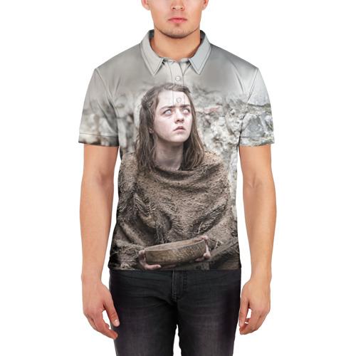 Мужская рубашка поло 3D  Фото 03, А. Старк