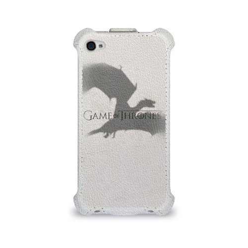 Чехол для Apple iPhone 4/4S flip  Фото 01, Дракон