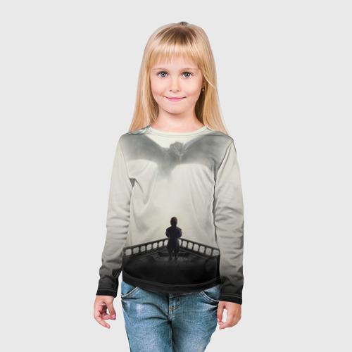 Детский лонгслив 3D  Фото 03, Дракон 1
