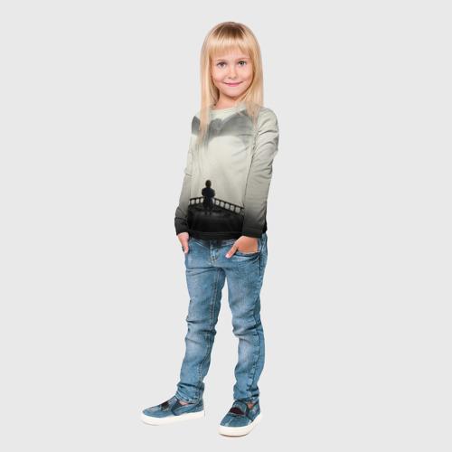 Детский лонгслив 3D  Фото 04, Дракон 1