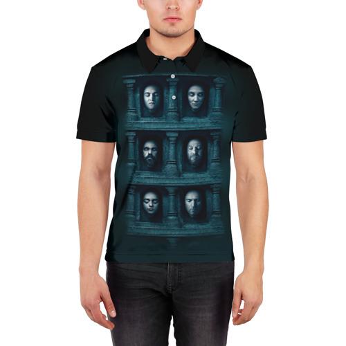 Мужская рубашка поло 3D  Фото 03, Стеллаж
