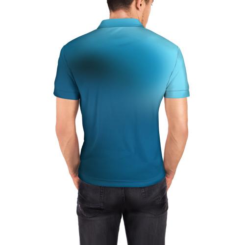 Мужская рубашка поло 3D  Фото 04, Ходок
