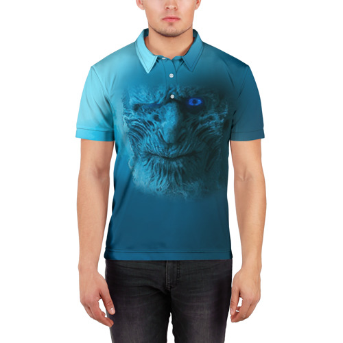 Мужская рубашка поло 3D  Фото 03, Ходок