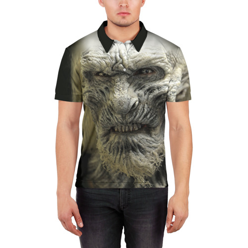 Мужская рубашка поло 3D  Фото 03, Ходок 1