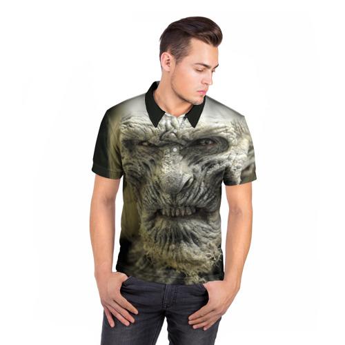 Мужская рубашка поло 3D  Фото 05, Ходок 1