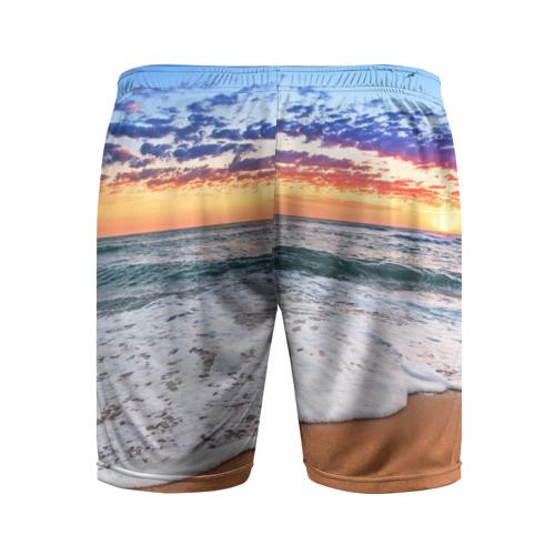 Мужские шорты 3D спортивные  Фото 02, Красивый закат