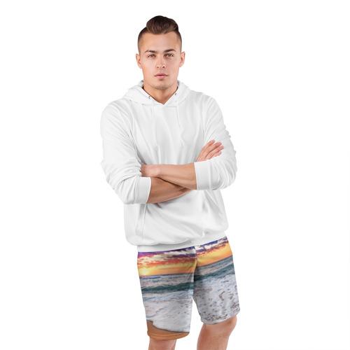 Мужские шорты 3D спортивные  Фото 05, Красивый закат