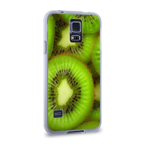 Чехол для Samsung Galaxy S5 силиконовый  Фото 02, Киви