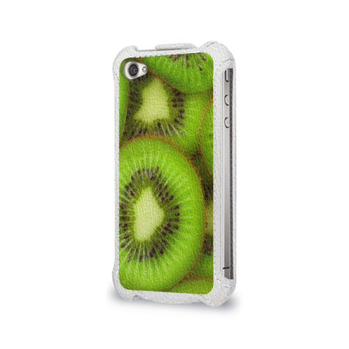 Чехол для Apple iPhone 4/4S flip  Фото 03, Киви