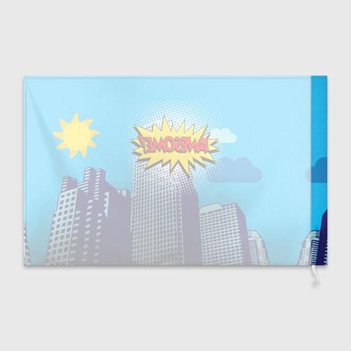 Флаг 3D Поп-арт 2 Фото 01