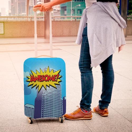 Чехол для чемодана 3D Поп-арт 2 Фото 01