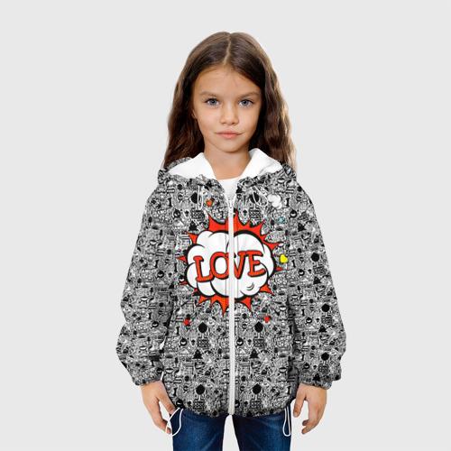 Детская куртка 3D  Фото 04, Поп-арт 3