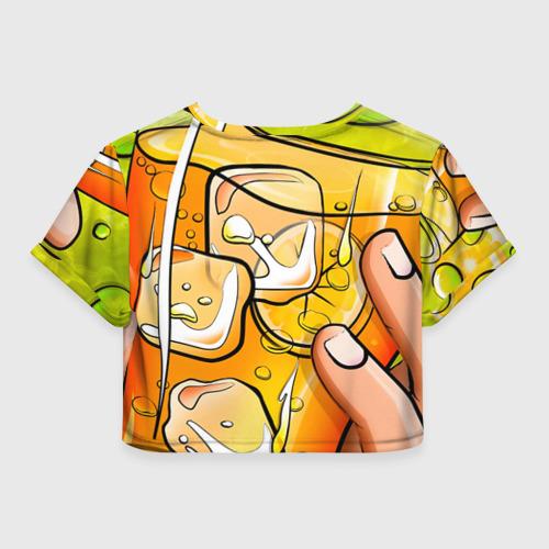 Женская футболка 3D укороченная  Фото 02, Поп-арт 5