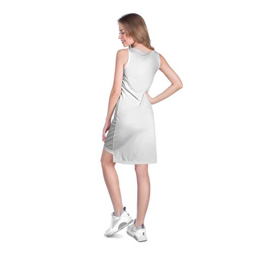 Платье-майка 3D  Фото 04, Стоящая спиной