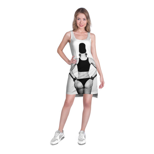 Платье-майка 3D  Фото 03, Стоящая спиной