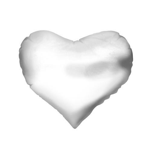 Подушка 3D сердце  Фото 02, Стоящая спиной