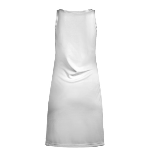 Платье-майка 3D  Фото 02, Стоящая спиной