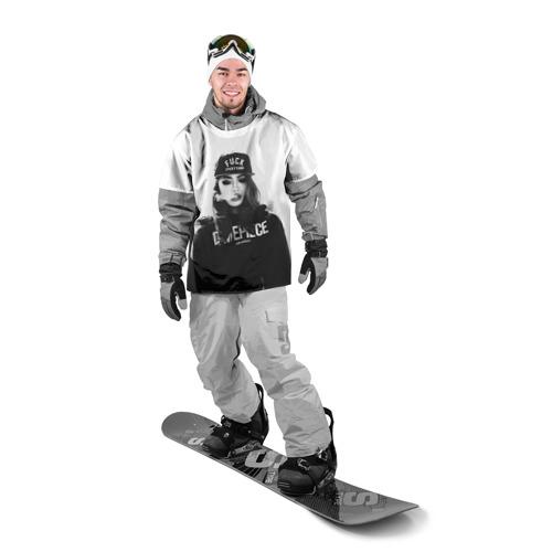 Накидка на куртку 3D  Фото 03, Девушка SWAG