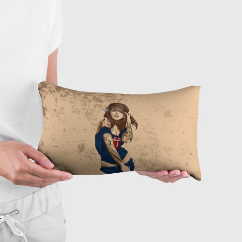 Подушка 3D антистресс  Фото 03, Девушка в наушниках